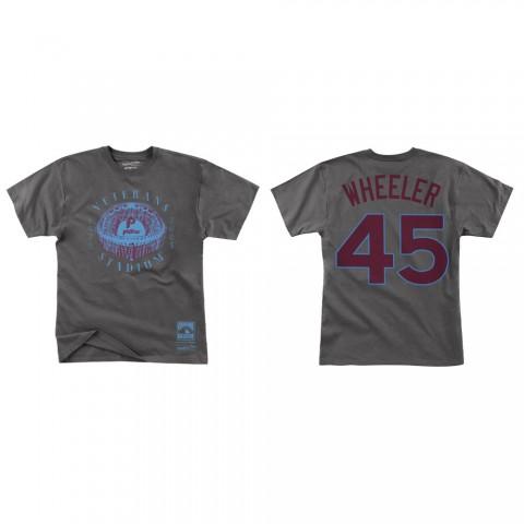 Zack Wheeler Philadelphia Phillies Stadium Series 2.0 T-Shirt