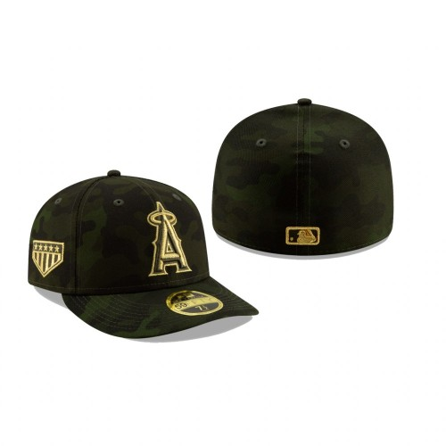 2019 Armed Forces Day Angels Low Profile 59FIFTY Camo Hat