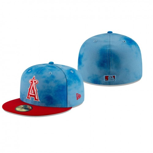 2019 Father's Day 59FIFTY Fitted Blue Red Hat