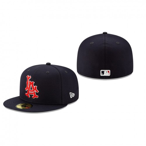2019 MLB Little League Classic Angels New Era Navy 59FIFTY Fitted Hat