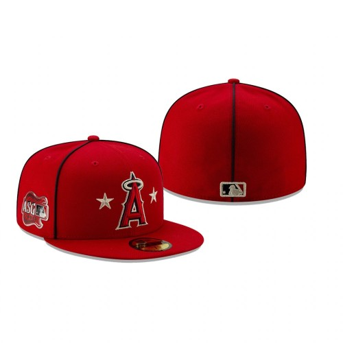 2019 MLB All-Star Game Los Angeles Angels 59FIFTY Red Hat