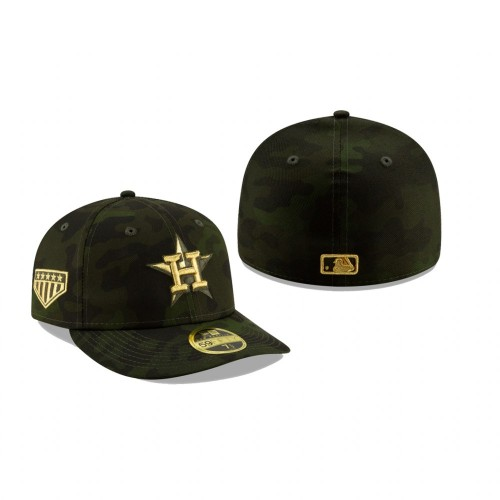 2019 Armed Forces Day Astros Low Profile 59FIFTY Camo Hat