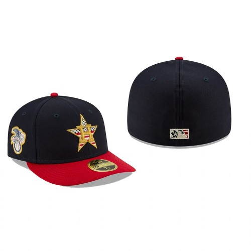 2019 Independence Day Astros Low Profile 59FIFTY Stars & Stripes Hat