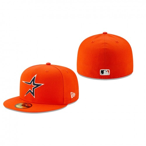 2019 MLB Little League Classic Astros New Era Orange 59FIFTY Fitted Hat