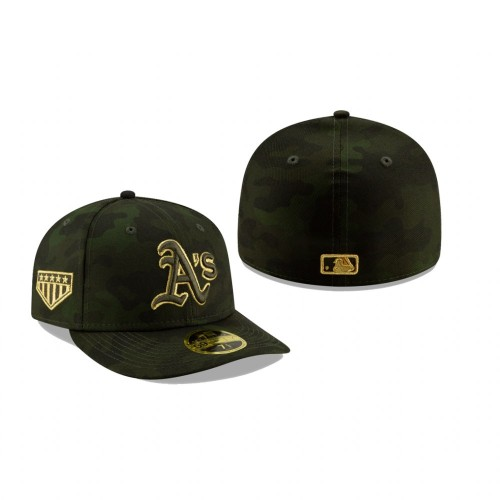 2019 Armed Forces Day Athletics Low Profile 59FIFTY Camo Hat