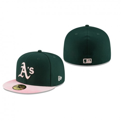 2019 Mother's Day 59FIFTY Fitted Green Pink Hat