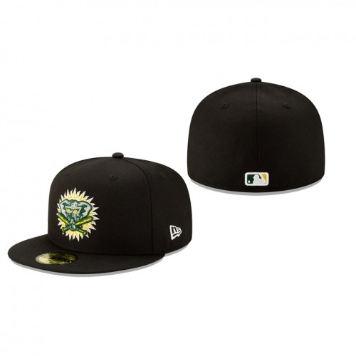 2019 MLB Little League Classic Athletics New Era Black 59FIFTY Fitted Hat