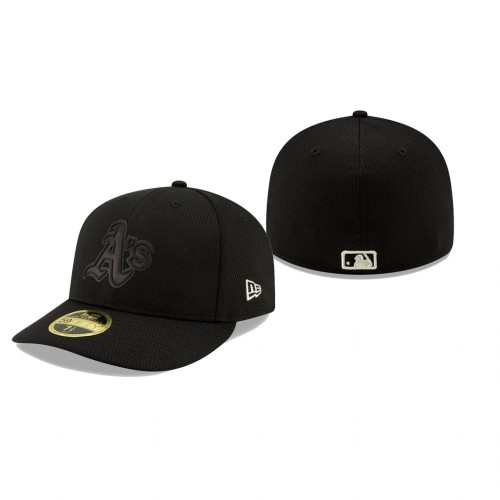 2019 Players' Weekend Athletics New Era Black Low Profile 59FIFTY Fitted Hat