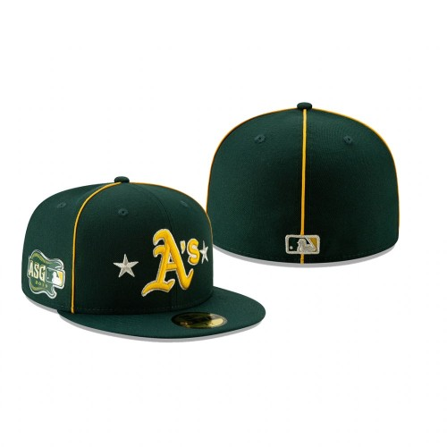 2019 MLB All-Star Game Oakland Athletics 59FIFTY Green Hat