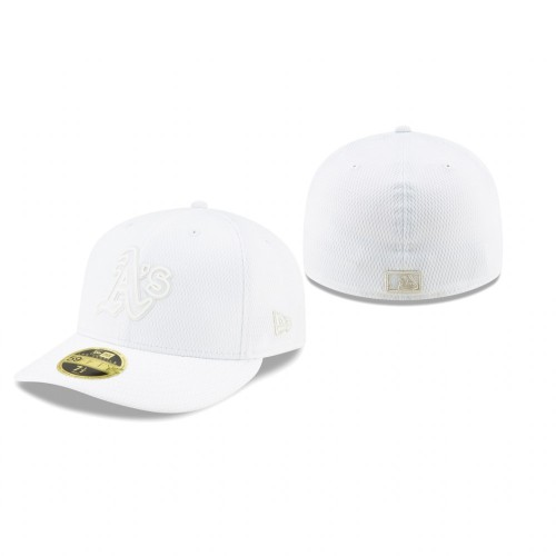 2019 Players' Weekend Athletics New Era White Low Profile 59FIFTY Fitted Hat