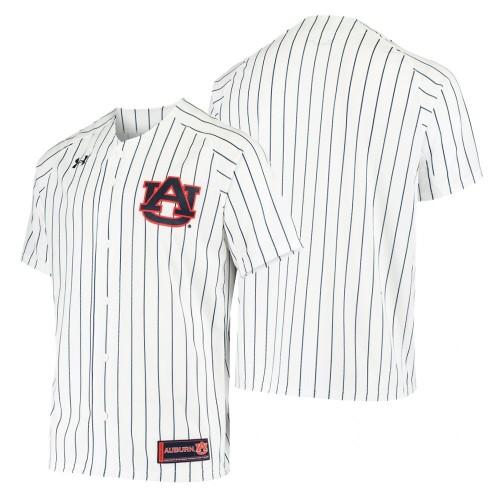 Auburn Tigers White Baseball Jersey