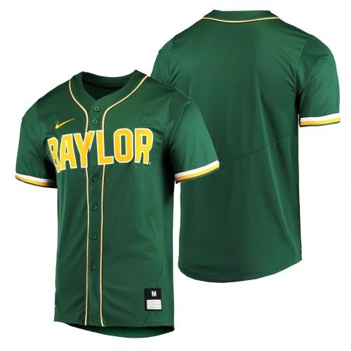 Baylor Bears Green Baseball Jersey