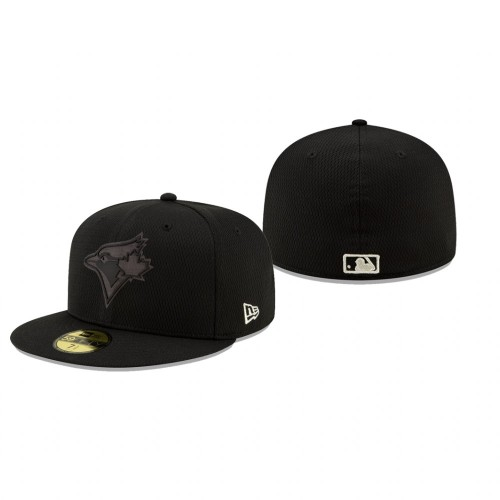 2019 Players' Weekend Blue Jays Black On-Field 59FIFTY Fitted Hat