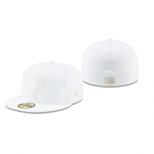 2019 Players' Weekend Blue Jays White On-Field 59FIFTY Fitted Hat
