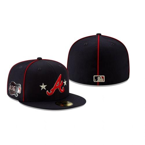 2019 MLB All-Star Game Atlanta Braves 59FIFTY Navy Hat