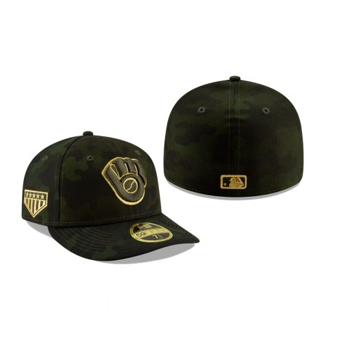 2019 Armed Forces Day Brewers Low Profile 59FIFTY Camo Hat