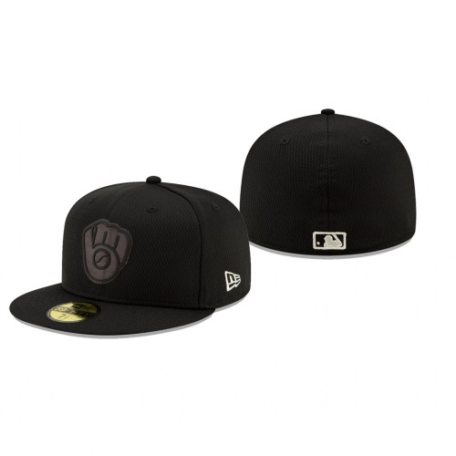 2019 Players' Weekend Brewers Black On-Field 59FIFTY Fitted Hat
