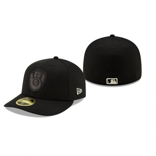 2019 Players' Weekend Brewers New Era Black Low Profile 59FIFTY Fitted Hat