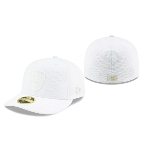 2019 Players' Weekend Brewers New Era White Low Profile 59FIFTY Fitted Hat
