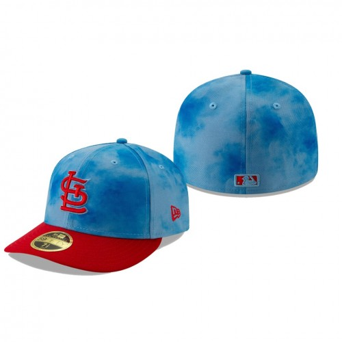 2019 Father's Day Low Profile 59FIFTY Blue Red Hat