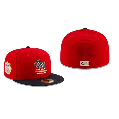 2019 Stars & Stripes Cardinals 59FIFTY Independence Day Hat