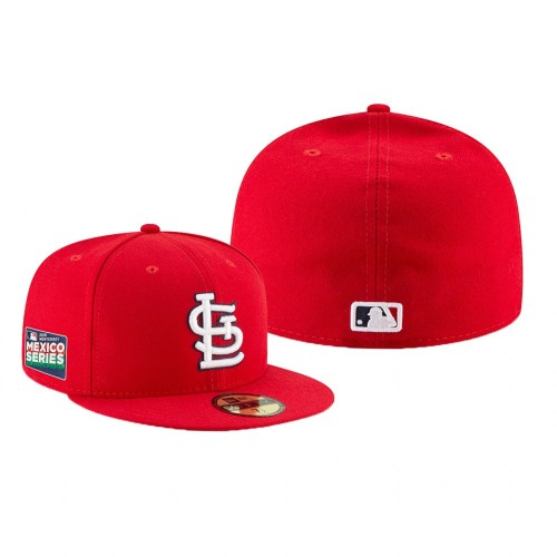 2019 Mexico Series 59FIFTY Fitted Red Hat