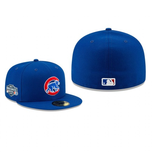 2019 Little League Classic Cubs Royal 59FIFTY Fitted On-Field Hat