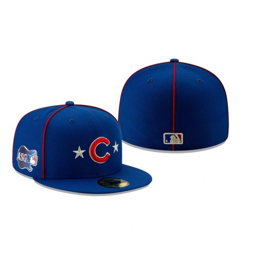 2019 MLB All-Star Game Chicago Cubs 59FIFTY Royal Hat
