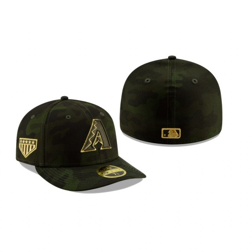 2019 Armed Forces Day Diamondbacks Low Profile 59FIFTY Camo Hat