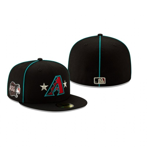 2019 MLB All-Star Game Arizona Diamondbacks 59FIFTY Black Hat
