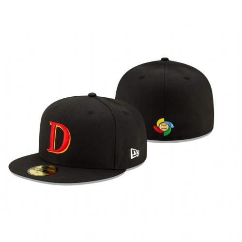 Germany 2021 World Baseball Classic Qualifier Black 59FIFTY Fitted Hat