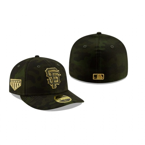 2019 Armed Forces Day Giants Low Profile 59FIFTY Camo Hat