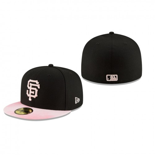 2019 Mother's Day 59FIFTY Fitted Black Pink Hat