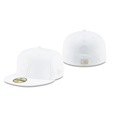 2019 Players' Weekend Giants White On-Field 59FIFTY Fitted Hat