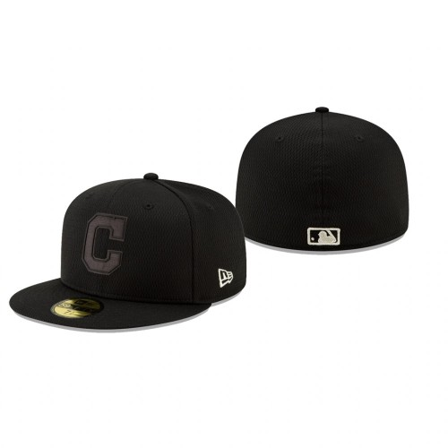 2019 Players' Weekend Indians Black On-Field 59FIFTY Fitted Hat