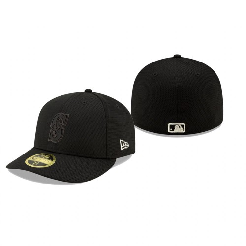 2019 Players' Weekend Mariners New Era Black Low Profile 59FIFTY Fitted Hat