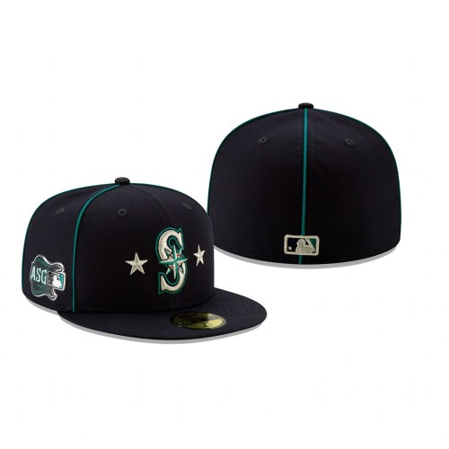 2019 MLB All-Star Game Seattle Mariners 59FIFTY Navy Hat