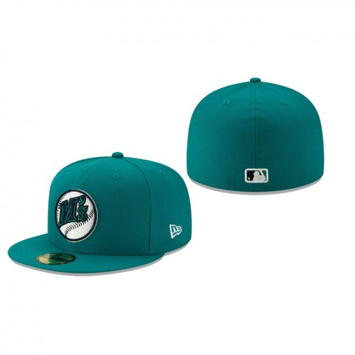 2019 MLB Little League Classic Mariners New Era Teal 59FIFTY Fitted Hat