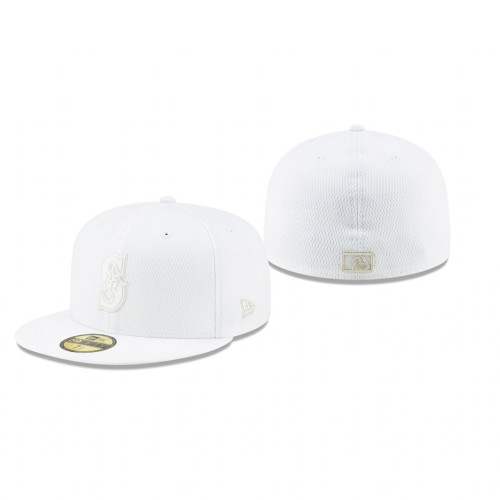 2019 Players' Weekend Mariners White On-Field 59FIFTY Fitted Hat