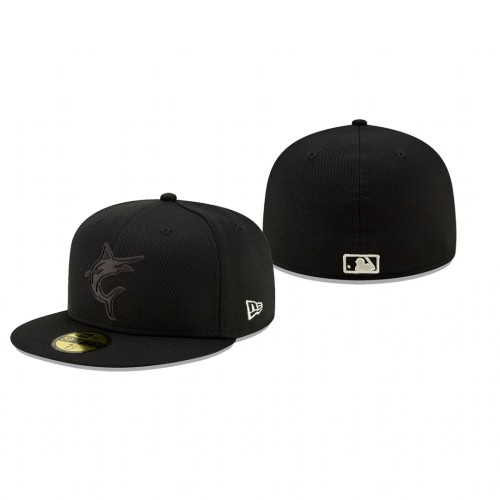 2019 Players' Weekend Marlins Black On-Field 59FIFTY Fitted Hat