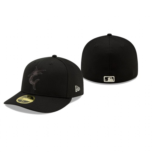 2019 Players' Weekend Marlins New Era Black Low Profile 59FIFTY Fitted Hat