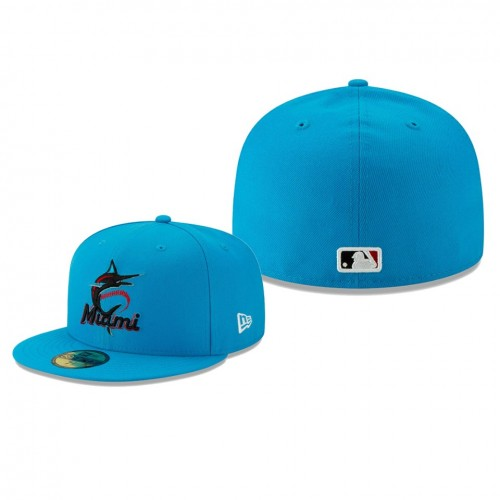 2019 Little League Classic Marlins Royal 59FIFTY Fitted New Era Hat