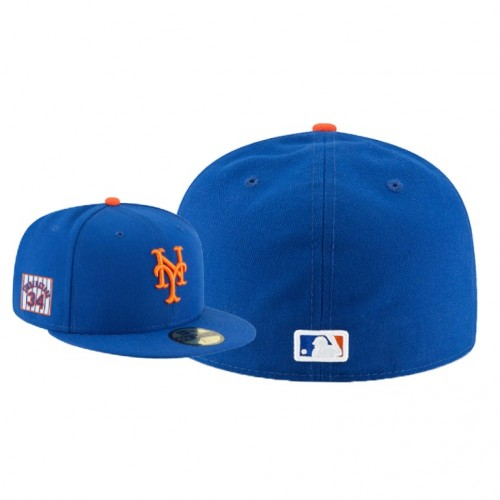 Men's Noah Syndergaard Player Patch 59FIFTY Fitted Royal Hat