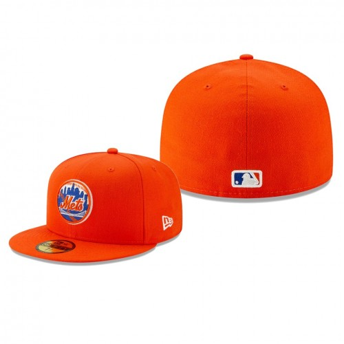 2019 Little League Classic Mets Orange 59FIFTY Fitted New Era Hat
