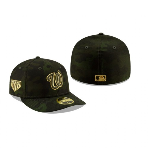 2019 Armed Forces Day Nationals Low Profile 59FIFTY Camo Hat