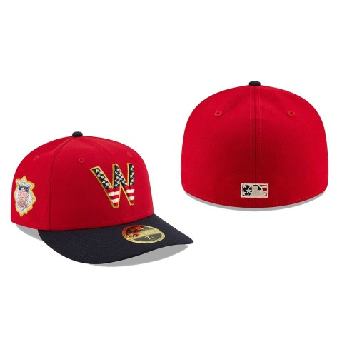 2019 Independence Day Nationals Low Profile 59FIFTY Stars & Stripes Hat