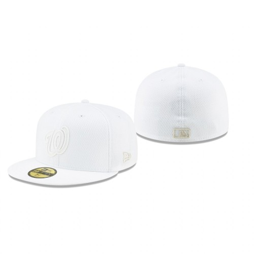 2019 Players' Weekend Nationals White On-Field 59FIFTY Fitted Hat