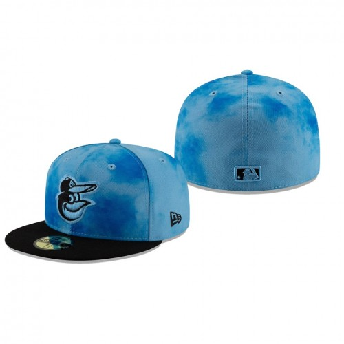2019 Father's Day 59FIFTY Fitted Blue Black Hat