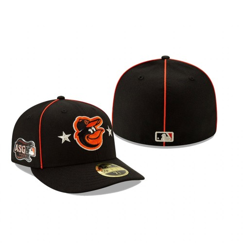 Baltimore Orioles 2019 MLB All-Star Game Low Profile 59FIFTY Black Hat