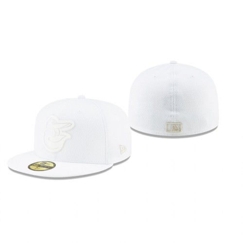 2019 Players' Weekend Orioles White On-Field 59FIFTY Fitted Hat